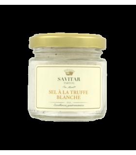 Savitar Tartufi - San Miniato -TB/SE/100 - Pot de 100 grammes de sel fin à la truffe blanche
