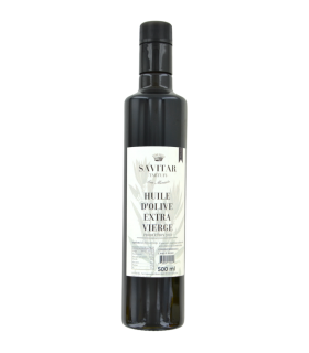 Savitar Tartufi - San Miniato - Bouteille de 500 ml d huile d'olive extra vierge de Toscane  Savitar Tartufi - San Miniato