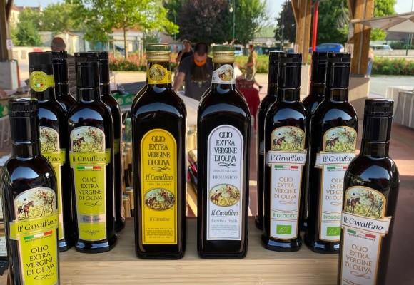Les Huiles d'olive vierge extra de Toscane Il Cavallino