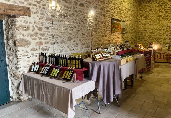 Salon Vins et Terroir à Janvry (91) - 12/13 juin 2021. Produits aux truffes Savitar Tartufi et huiles d'olive de Toscane.
