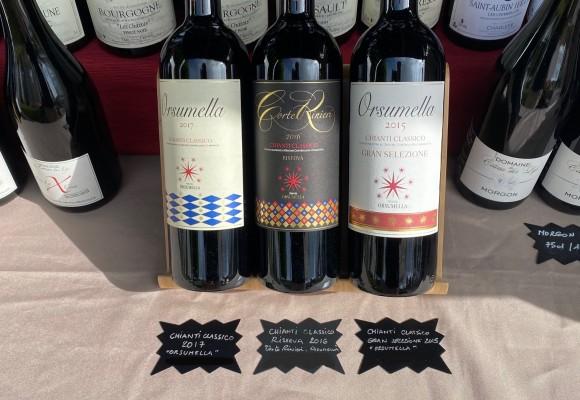 Nouveau sur notre boutique en ligne.. Venez découvrir les vins Chianti Classico du Domaine Orsumella..